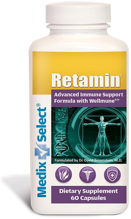 Retamin bottle